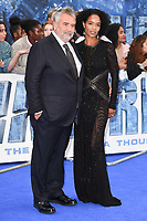 "Luc and Virginie Besson<br /> at the ""Valerian"" European premiere, Cineworld Empire Leicester Square, London. <br /> <br /> <br /> ©Ash Knotek  D3290  24/07/2017"