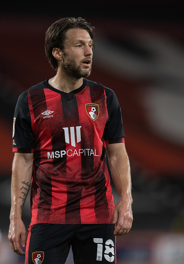 Bournemouth's Harry Arter <br /> <br /> Photographer David Horton/CameraSport<br /> <br /> Carabao Cup Second Round Southern Section - Bournemouth v Crystal Palace - Tuesday 15th September 2020 - Vitality Stadium - Bournemouth<br />  <br /> World Copyright © 2020 CameraSport. All rights reserved. 43 Linden Ave. Countesthorpe. Leicester. England. LE8 5PG - Tel: +44 (0) 116 277 4147 - admin@camerasport.com - www.camerasport.com