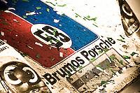 22-25 January, 2009, Daytona Beach, Florida USA.#58 Brumos Porsche/Riley of Darren Law, David Donohue, Antonio Garcia & Buddy Rice sits in Victory Lane..©F.Peirce Williams 2009.F.Peirce Williams.photography