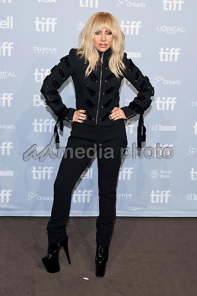 "08 September 2017 - Toronto, Ontario Canada - Lady Gaga. 2017 Toronto International Film Festival - ""Lady Gaga: Five Foot Two"" Press Conference held at TIFF Bell Lightbox. Photo Credit: Brent Perniac/AdMedia"