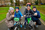 Enjoying a stroll in the Tralee Town park on Sunday, l to r: Triona, Micheal, Dara and Declan McCarthy