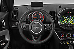 Car pictures of steering wheel view of a 2020 MINI Countryman Cooper-SE-JCW 5 Door SUV Steering Wheel