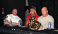 Brock Lesner Hulk Hogan  Kurt Angle 2004                                              Photo By John Barrett/PHOTOlink