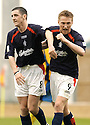 02/04/2005         Copyright Pic : James Stewart.File Name : jspa01_falkirk_v_st_johnstone.DANIEL MCBREEN (RIGHT) CELEBRATES WITH RYAN MCSTAY AFTER HE SCORES FALKIRK'S FIRST.Payments to :.James Stewart Photo Agency 19 Carronlea Drive, Falkirk. FK2 8DN      Vat Reg No. 607 6932 25.Office     : +44 (0)1324 570906     .Mobile   : +44 (0)7721 416997.Fax         : +44 (0)1324 570906.E-mail  :  jim@jspa.co.uk.If you require further information then contact Jim Stewart on any of the numbers above.........A