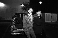 Terry and Sharon, Roswell locals. Roswell, New Mexico, USA December 2003 © Stephen Blake Farrington