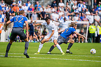 Jack Cork of Swansea City  in action during the Pre Season friendly match between Swansea City and Rovers played at the Memorial Stadium, Bristol on July 23rd 2016