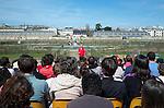 Cadre : Festival Plastique Danse Flore..Lieu : Potager du roi..Ville : Versailles..Le 14/04/2013..© Laurent Paillier / photosdedanse.com