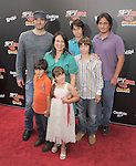Robert Rodriguez and family at The Weinstein Company World Premiere of Spy Kids: All the Time in the World in 4 held at The Regal Cinames,L.A. Live in Los Angeles, California on July 31,2011                                                                               © 2011 Hollywood Press Agency
