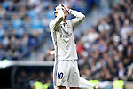 Real Madrid's James Rodriguez dejected during La Liga match. January 7,2016. (ALTERPHOTOS/Acero)
