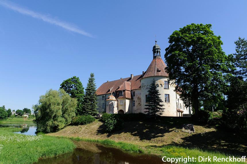 Burg in Jaunpils, Lettland, Europa