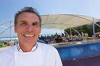 """Afrique/Afrique du Nord/Maroc /Casablanca: restaurant d'André Halbert """"A ma Bretagne"""" bd de l'océan sur la Corniche - André Halbert"""