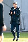 20.02.2021, xtgx, Fussball 3. Liga, FC Hansa Rostock - SV Waldhof Mannheim, v.l. Jens Haertel (Hansa Rostock, Trainer) gibt Anweisungen, gestikuliert mit den Armen, gesticulate, gives instructions <br /> <br /> (DFL/DFB REGULATIONS PROHIBIT ANY USE OF PHOTOGRAPHS as IMAGE SEQUENCES and/or QUASI-VIDEO)<br /> <br /> Foto © PIX-Sportfotos *** Foto ist honorarpflichtig! *** Auf Anfrage in hoeherer Qualitaet/Aufloesung. Belegexemplar erbeten. Veroeffentlichung ausschliesslich fuer journalistisch-publizistische Zwecke. For editorial use only.