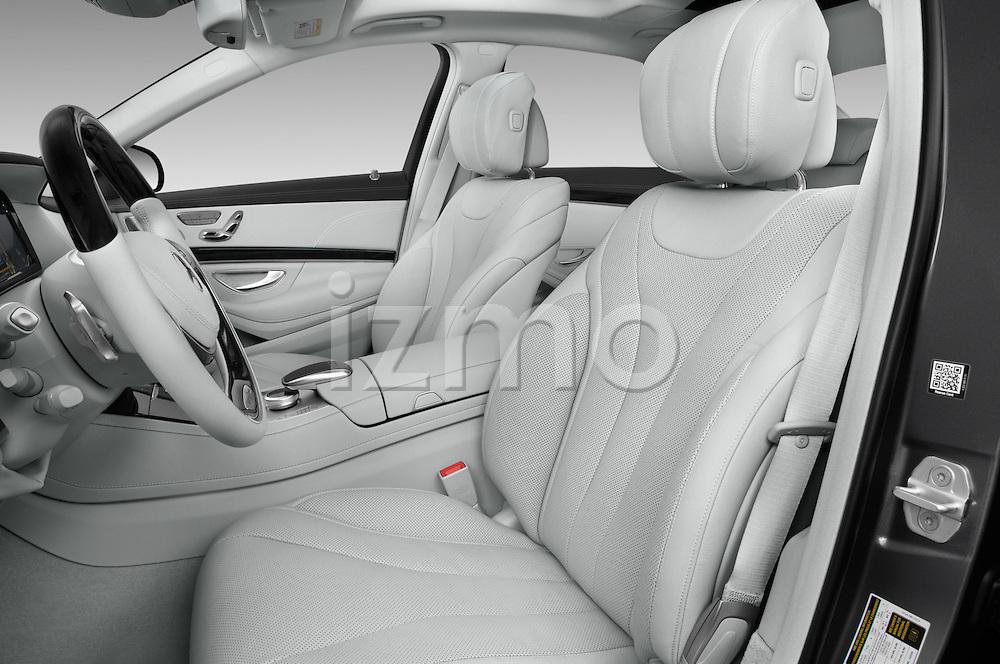 Front seat view of 2017 Mercedes Benz S-Class S550-PLUG-IN-HYBRID 4 Door Sedan Front Seat  car photos