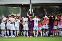 LAKE BUENA VISTA, FL - JULY 23: Chicago Fire before the game during a game between Chicago Fire and Vancouver Whitecaps at Wide World of Sports on July 23, 2020 in Lake Buena Vista, Florida.