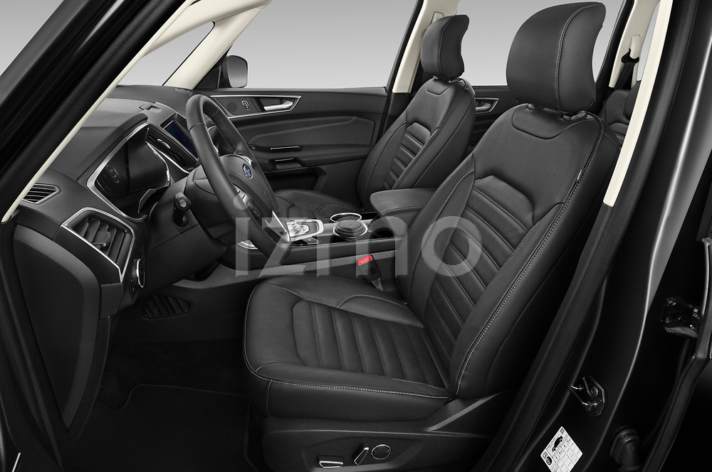 Front seat view of 2021 Ford Galaxy Titanium 5 Door Minivan Front Seat  car photos