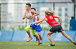 Players in action during the Swire Properties Touch Tournament 2015 for HKRFU on September 12, 2015 at King's Park Sports Ground in Hong Kong, China. Photo by Aitor Alcalde / Power Sport Images