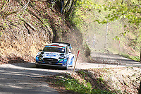 24th April 2021; Zagreb, Croatia; WRC Rally of Croatia, stages 9-16; Gus Greensmith - Ford Fiesta WRC WRC