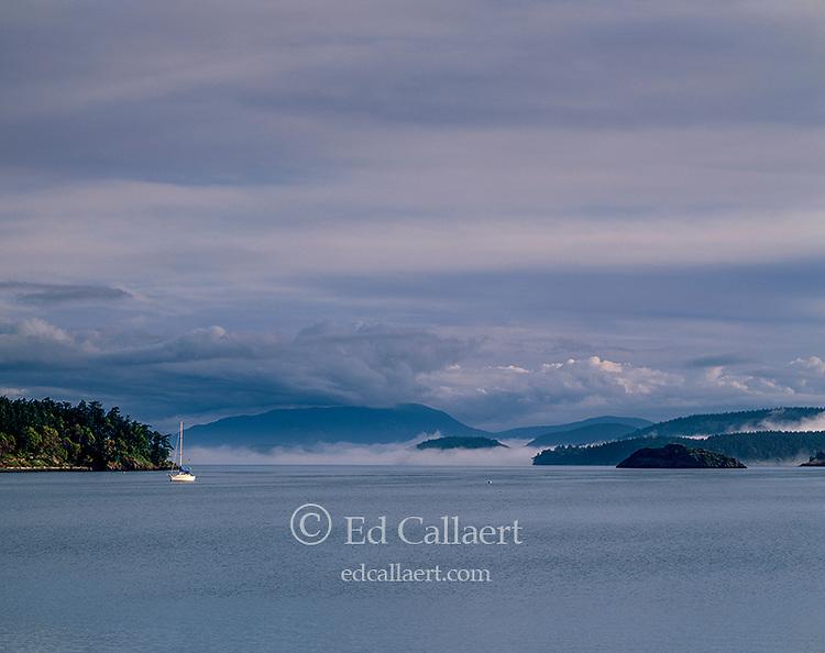 Storm Clouds, Mud Bay, Lopez Island, San Juan Islands, Washington