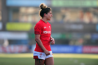 Pictured: Jess Kavanagh of Wales in action during the Women's six nations championship match between Wales and England at Cardiff Arms Park, Cardiff, Wales, UK. Sunday 24 February 2019