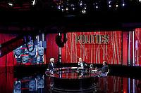 Roma 07-09-2016 Rai, trasmissione televisiva 'Politics'.<br /> Rome 7th September 2016 Tv show 'Politics'.<br /> Photo Samantha Zucchi Insidefoto