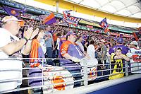 Fans der Frankfurt Galaxy verabschieden sich von ihrem Team