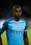 Manchester City midfielder Fernandinho Roza  during the match between Manchester City vs Borussia Dortmund for the 2016 International Champions Cup China match at the Shenzhen Stadium on 28 July 2016 in Shenzhen, China. Photo by Marcio Machado / Power Sport Images