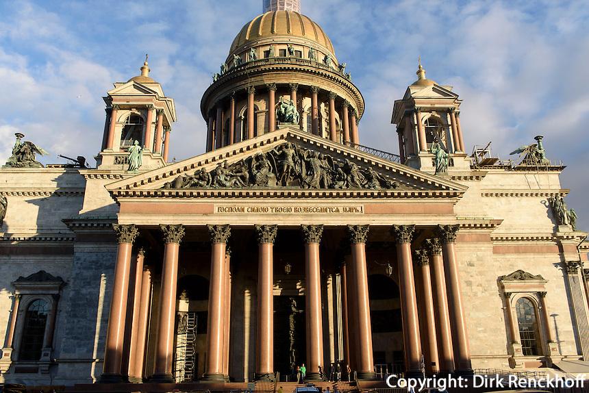 St. Isaakskathedrale, St. Petersburg, Russland, UNESCO-Weltkulturerbe