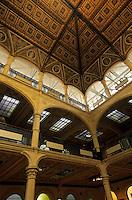 Europe/Italie/Emilie-Romagne/Bologne : Palais communal (Palazzo Comunale XIII°) - Salle de la Bourse