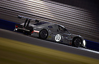 .The Ford Multimatic speeds through night practice...