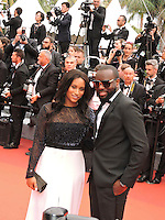 """FRA: """"THE BFG"""" Red Carpet- The 69th Annual Cannes Film Festival - Maitre Gims, DemDem.attend """"THE BFG"""". Red Carpet during The 69th Annual Cannes Film Festival on May 14, 2016 in Cannes, France."""