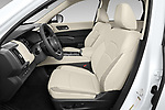 Front seat view of 2022 Nissan Pathfinder SL 5 Door SUV Front Seat  car photos