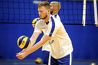 GRONINGEN - Volleybal, Eerste training Amysoft Lycurgus , seizoen 2021-2022, 17-08-2021,   Luuk Hofhuis