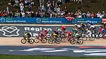 Gruppetto with Dylan GROENEWEGEN of Team LottoNL-Jumbo during the 2018 Paris-Roubaix race at Velodrome Roubaix, France, 8 April 2018, Photo by Pim Nijland / PelotonPhotos.com | All photos usage must carry mandatory copyright credit (Peloton Photos | Pim Nijland)