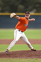 San Francisco Giants pitcher D.J. Snelton (52) during an Instructional League game against the SK Wyverns on October 17, 2014 at Giants Baseball Complex in Scottsdale, Arizona.  (Mike Janes/Four Seam Images)