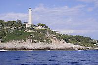 - France, French Riviera, the Cap Ferrat lighthouse<br /> <br /> - Francia, Costa Azzurra, il faro di Cap Ferrat