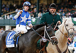 """October 08, 2021 : #1 Juju's Map and jockey Florent Geroux win the 70th running of The Darley Alcibiades Grade 1 $400,000 """"Win and You're In Juvenile Fillies Division' for owner Albaugh Family stables and trainer Brad Cox at Keeneland in Lexington, KY on October 08, 2021.  Candice Chavez/ESW/CSM"""