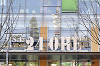 - Milano, il palazzo sede del quotidiano economico della Confindustria Sole 24 Ore<br /> <br /> - Milan, the palace headquarters of the Confindustria business newspaper Il Sole 24 Ore
