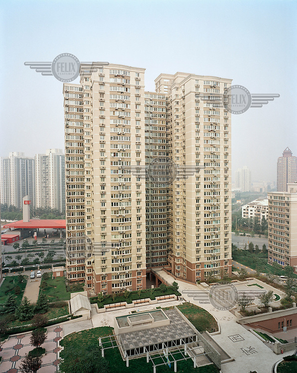 A residential block in Wangjing, Chaoyang district, the largest residential area in the city which is also becoming an important business centre.