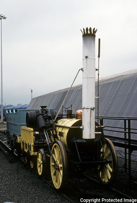 "Industrial Revolution:  ""Rocket""  Locomotive. National Railway Museum, York."