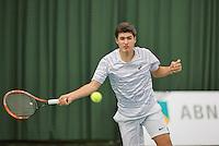 Rotterdam, Netherlands, Januari 24, 2016,  ABNAMROWTT Supermatch, Brian de Vrind (NED)<br /> Photo: Tennisimages/Henk Koster