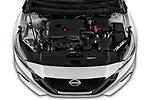 Car stock 2020 Nissan Altima SL 4 Door Sedan engine high angle detail view