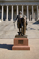 Statue of George Washington in front of the South Carolina State House Columbia South Carolina