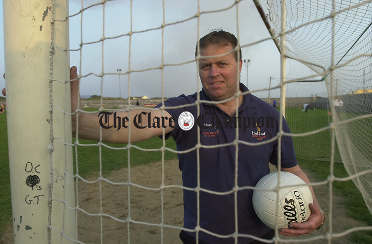 Martin Flynn pictured at the GAA field in Miltown. Photograph by John Kelly.