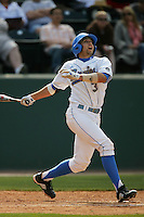 April 3 2010: Steve Rodriguez of the UCLA Bruins during game against the Stanford Cardinal at UCLA in Los Angeles,CA.  Photo by Larry Goren/Four Seam Images