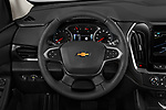 Car pictures of steering wheel view of a 2020 Chevrolet Traverse Premier 5 Door SUV Steering Wheel