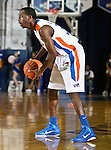 Texas-Arlington Mavericks guard/forward LaMarcus Reed III (31) in the game between the UTA Mavericks and the Hardin-Simmons Cowboys held at the University of Texas in Arlington's Texas Hall in Arlington, Texas. UTA defeats Hardin-Simmons 88 to 71.