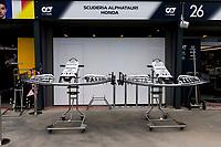 13th March 2020; Melbourne Grand Prix Circuit, Melbourne, Victoria, Australia; Formula One, Australian Grand Prix, Practice Day; Alpha Tauri front wings