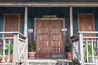 Historic Kaupo General Store front entrance, along Pi'ilani Hwy., Kaupo, Maui