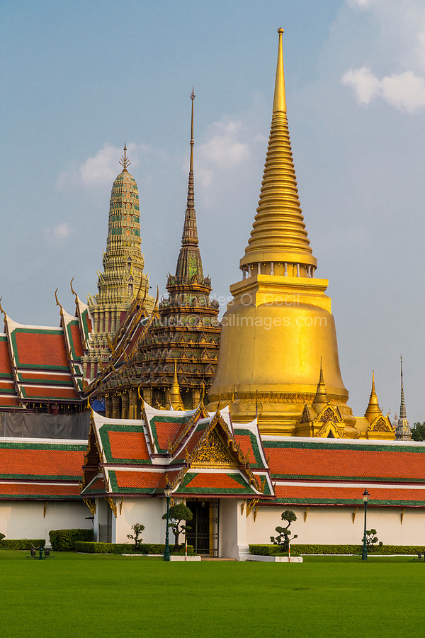 Bangkok, Thailand.  Grand Palace Compound.