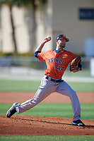 GCL Astros pitcher Brady Rodgers (44) during a Gulf Coast League game against the GCL Marlins on August 8, 2019 at the Roger Dean Chevrolet Stadium Complex in Jupiter, Florida.  GCL Astros defeated GCL Marlins 4-2.  (Mike Janes/Four Seam Images)